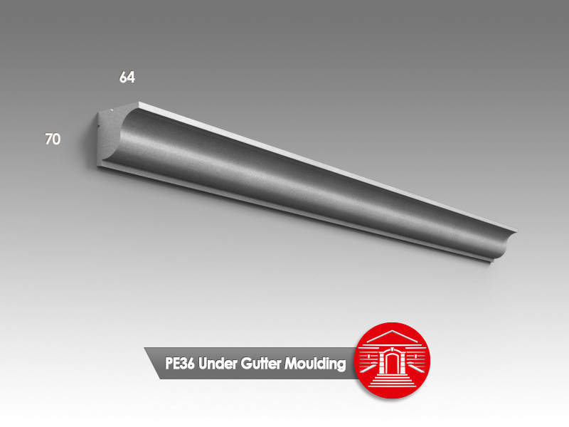 Under gutter mouldings the finishing touch decorative for Finishing touch mouldings