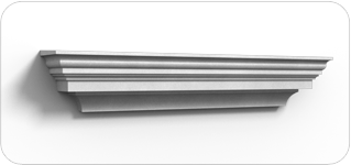 Window headers the finishing touch decorative for Finishing touch mouldings